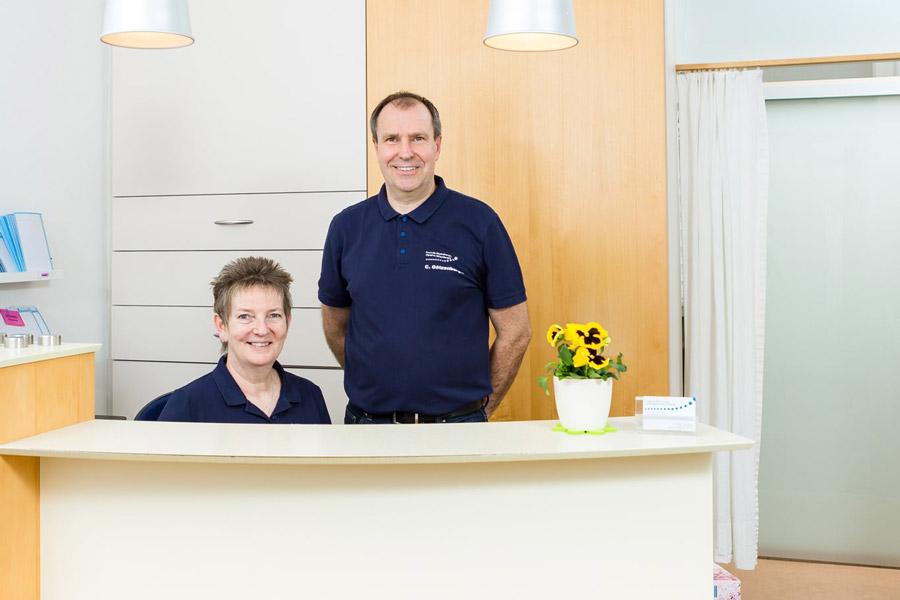 Empfang von Physiotherapie Götzenberger
